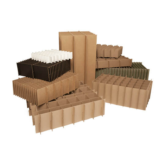 Cardboard Square Cell Dividers