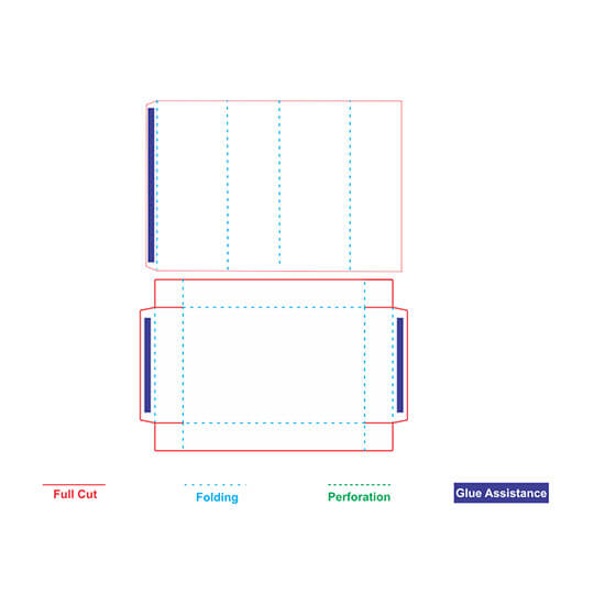 Tray and Sleeve Box Template