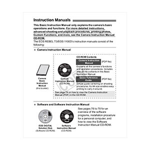 Printed Instruction Manuals & Guide