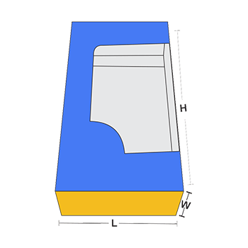 Tuck End Box with Window Measurement Guidelines